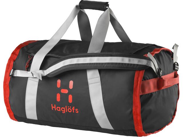 Haglöfs Lava 70 Duffel Bag True Black/Habanero
